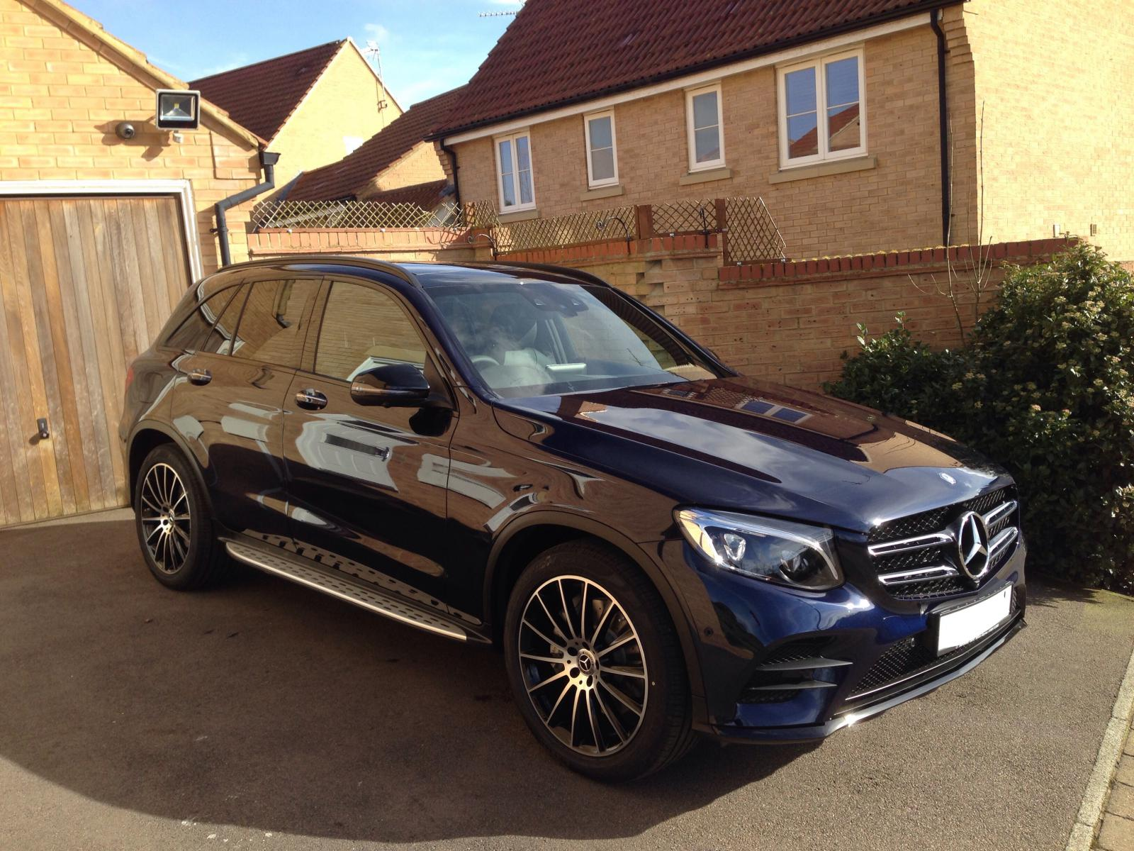 cavansite blue amg line with night pack mercedes glc forum. Black Bedroom Furniture Sets. Home Design Ideas