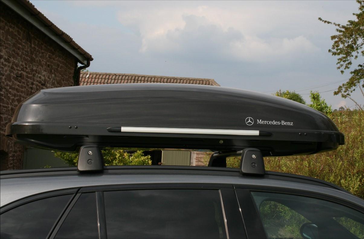 Roof box and rails sale - Mercedes GLC Forum