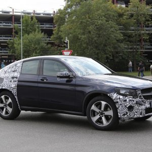 spyshots 2016 mercedes benz glc coupe spotted while testing expect a launch soon