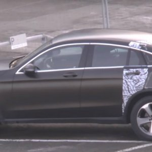 Mercedes GLC Spied With Less Camouflage