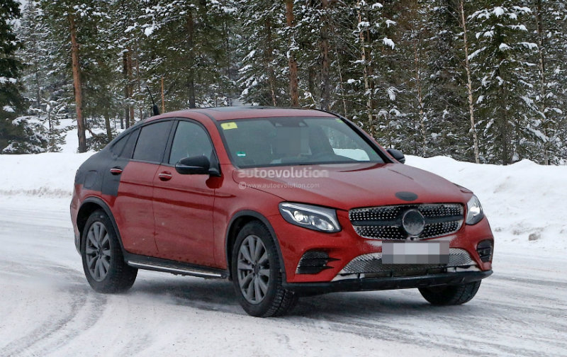 2017 glc coupe spied almost naked mercedes glc forum. Black Bedroom Furniture Sets. Home Design Ideas