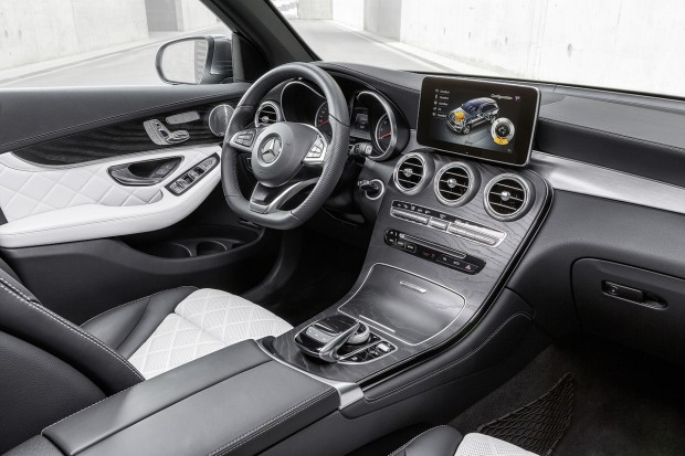the mercedes-benz glc's confusing infotainment controls - mercedes
